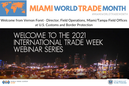 Vernon Foret · Director, Field Operations, MiamiTampa Field Offices at U.S. Customs and Border Protection ___SMALL